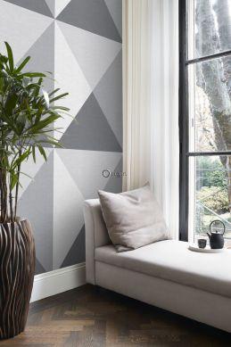 wall mural 3D print gray