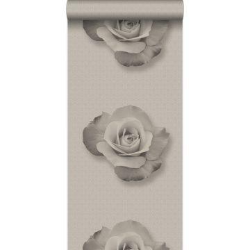 wallpaper rose gray and black