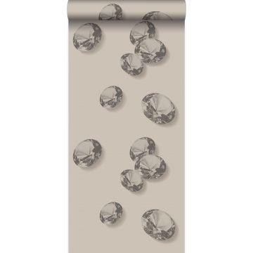 wallpaper diamonds gray and black