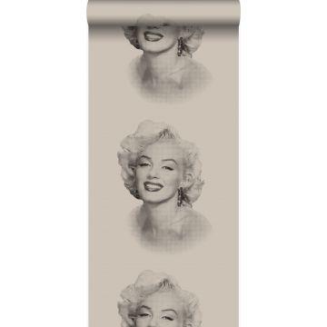 wallpaper Marilyn Monroe gray and black