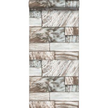 wallpaper marble stones light brown