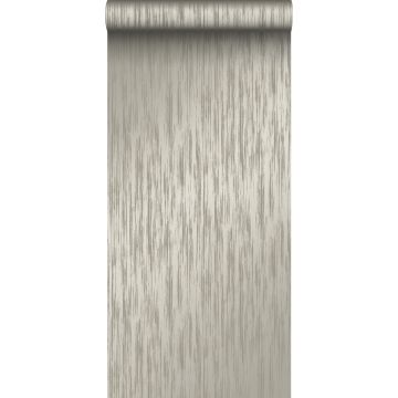 wallpaper fine stripes slate gray