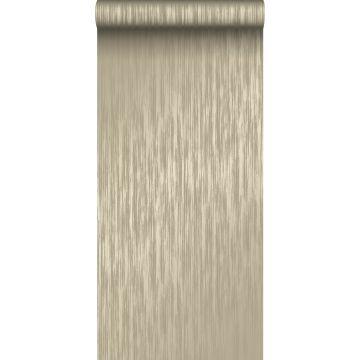 wallpaper fine stripes light brown