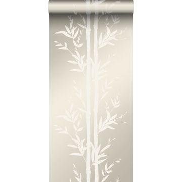 wallpaper bamboo off-white