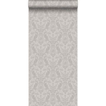 wallpaper ornament gray