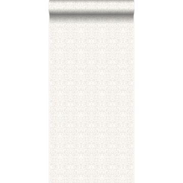 wallpaper ornament white and light gray