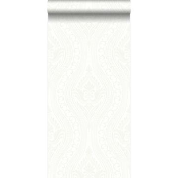 wallpaper ornament off-white