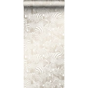 wallpaper zebras gray