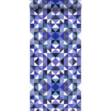 wallpaper cubism purple