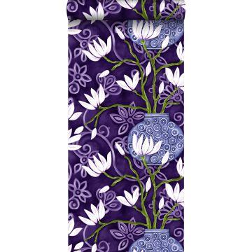 wallpaper magnolia purple