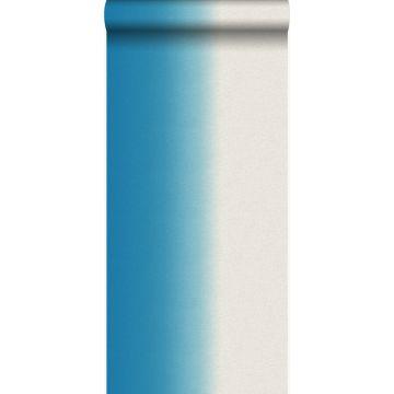 wallpaper dip dye motif turquoise