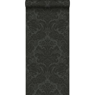 wallpaper ornament black