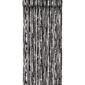 wallpaper stripes black