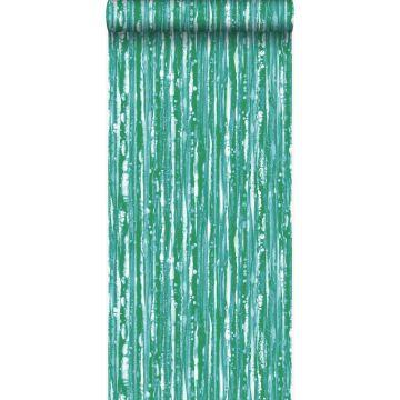 wallpaper stripes green