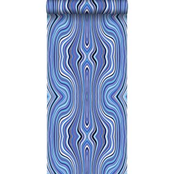 wallpaper graphic lines blue and turquoise