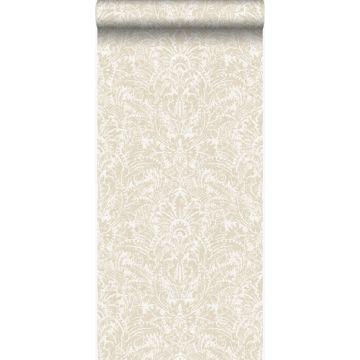 wallpaper ornament beige