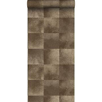 wallpaper animal skin texture dark brown