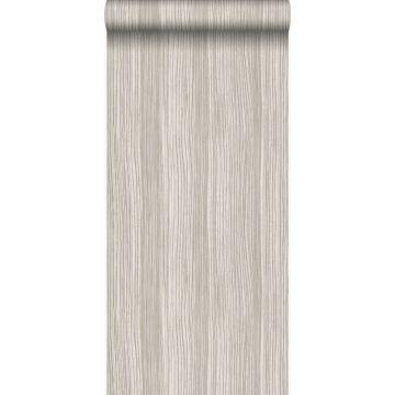 wallpaper stripes shiny light brown