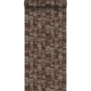 wallpaper with texture brown