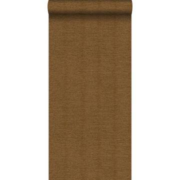 wallpaper linen texture rust brown