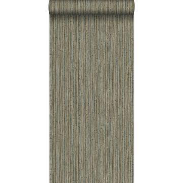 wallpaper bamboo dark taupe