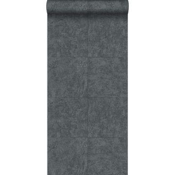 wallpaper stone dark gray