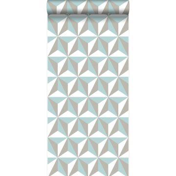 wallpaper graphic 3D celadon green