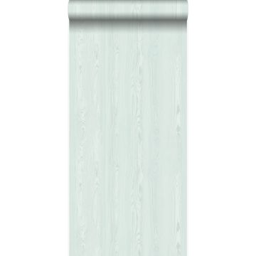 wallpaper fresh wood planks mint green