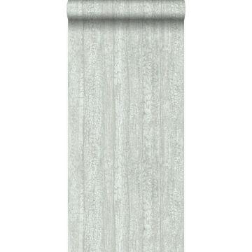 wallpaper wooden planks mint green
