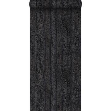 wallpaper wooden planks black