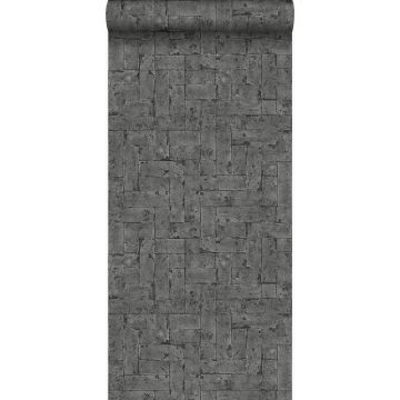 wallpaper bricks black