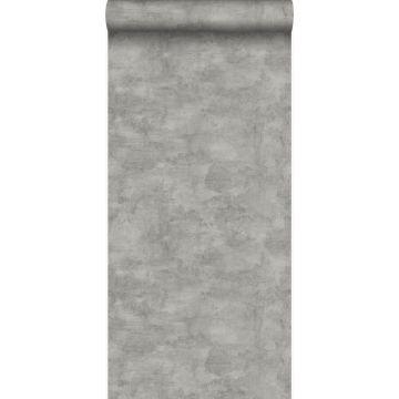 wallpaper concrete look dark gray