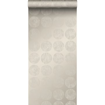 wallpaper large weathered affected spheres warm silver