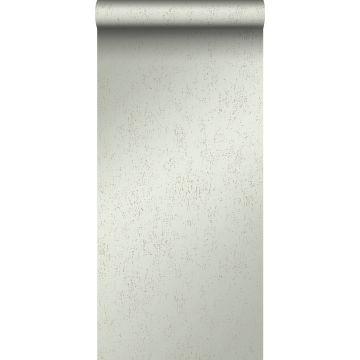 wallpaper metal effect mint green
