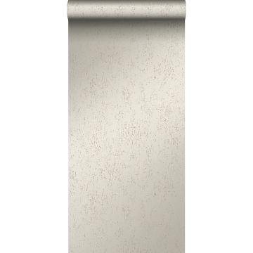 wallpaper metal effect warm silver