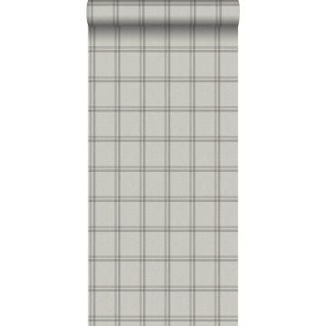 eco texture non-woven wallpaper rhombus motif beige