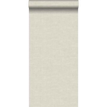 wallpaper woven fabric effect light beige