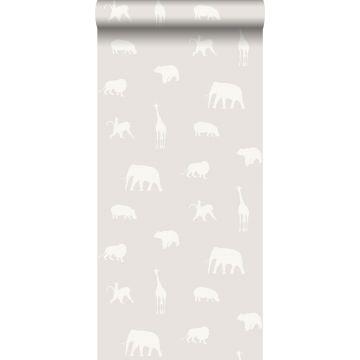 wallpaper animals shiny warm gray