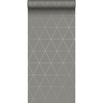 wallpaper graphical triangles warm gray