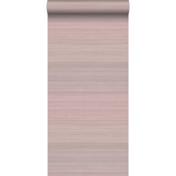 wallpaper woven structure with gradient colours antique pink