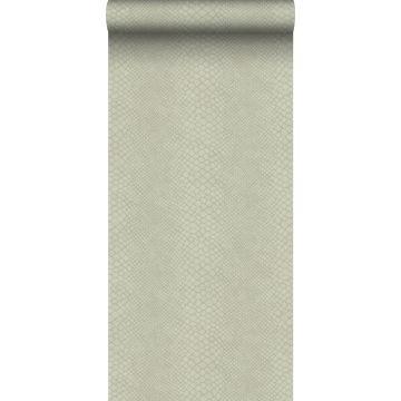 wallpaper snake skin pale gray