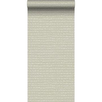 wallpaper crocodile skin white