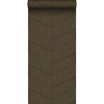 wallpaper tile motif with snake skin pattern brown