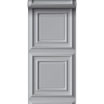 wallpaper wall panelling gray