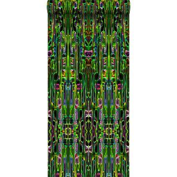 non-woven wallpaper XXL jungle fever black