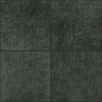 self-adhesive eco-leather tiles square anthracite gray