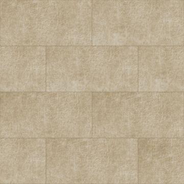 self-adhesive eco-leather tiles rectangle sand beige