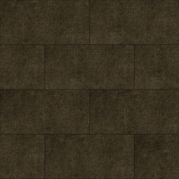 self-adhesive eco-leather tiles rectangle dark brown
