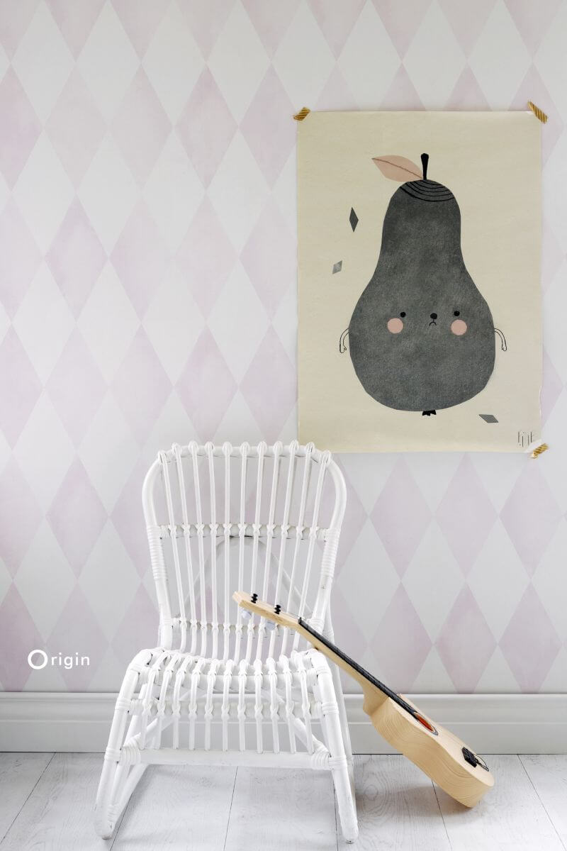 check wallpaper childrens bedroom