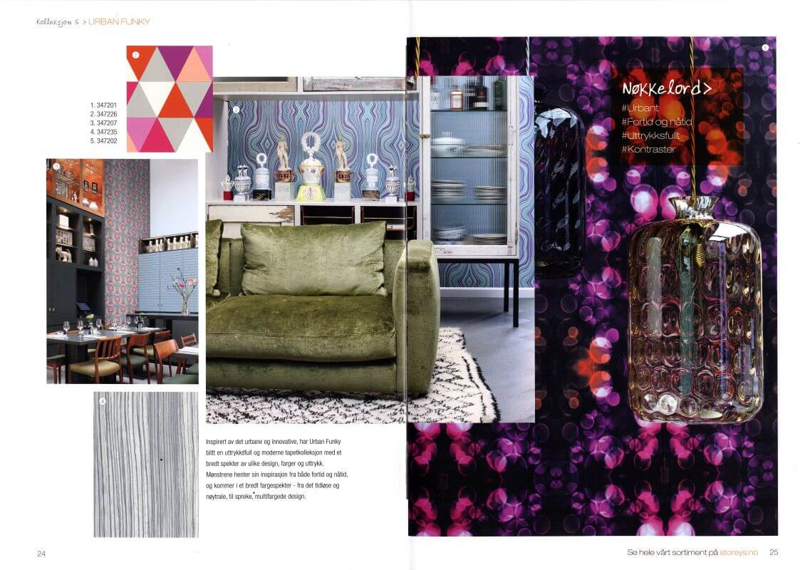 Origin luxury wallcoverings Urban Funky